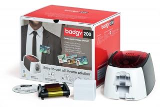 карт-принтер evolis badgy200