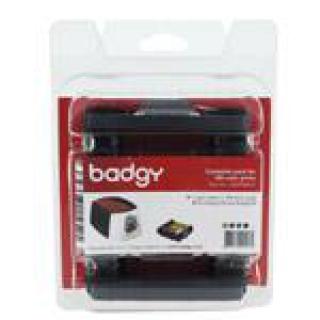 цвтеная лента на 100 отпечатков для принтера badgy100/200 + 100 карт (0,76мм) (cbgp0001c)