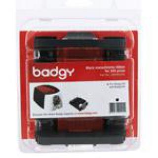 черная монохромная лента на 500 отпечатков для принтера badgy100/200 (cbgr0500k)