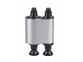 серебряная монохромная лента (r2217)