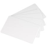 Белые карты Classic, пластик, 0.76мм - 30 mil, 5 упаковок по 100 карт (С4001)