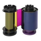 Лента YMCKI для ретрасферной цветной печати (RT5F012NAA)