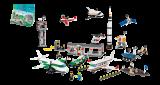 Космос и аэропорт LEGO